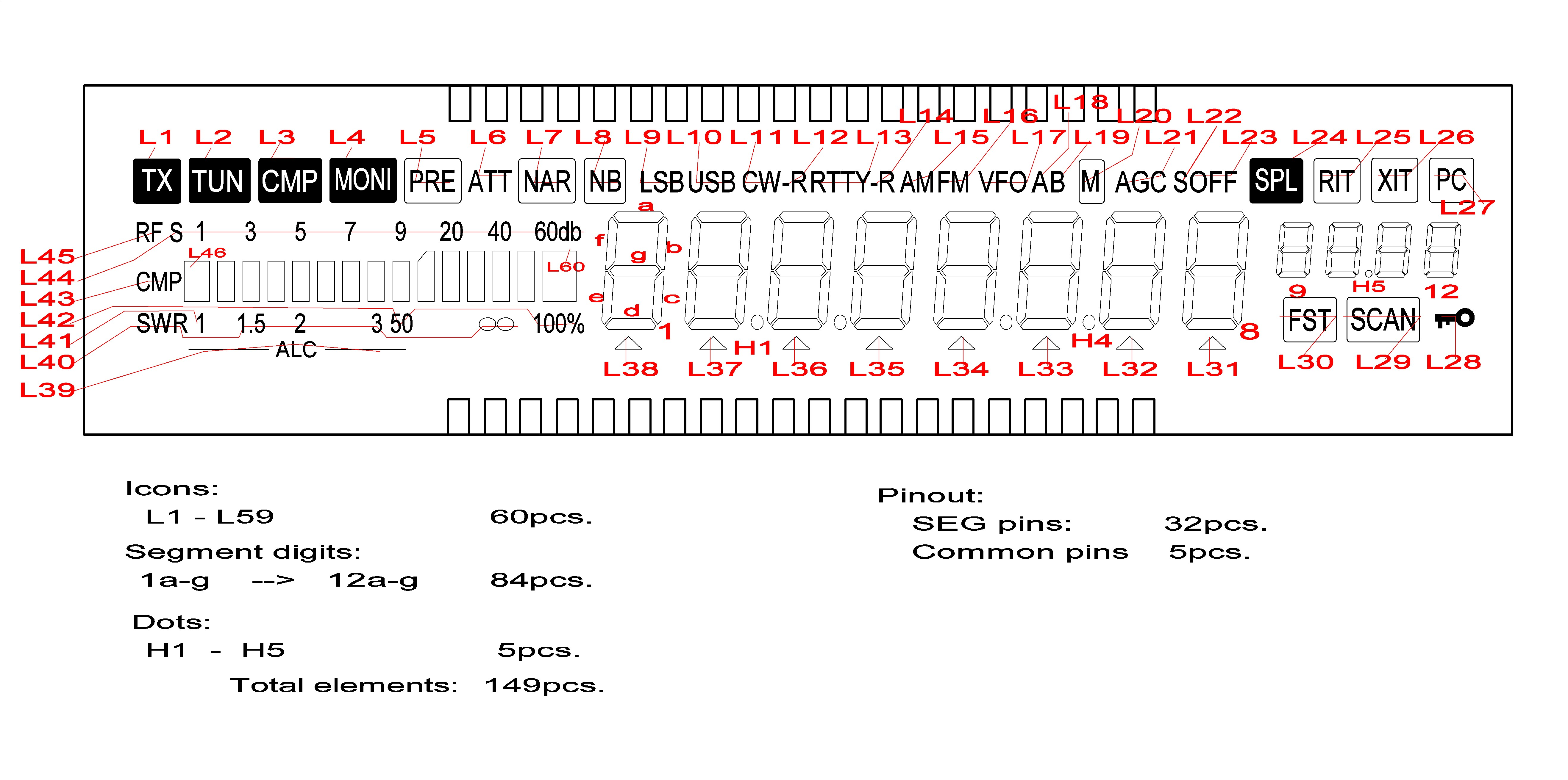 Lz2jr Ham Radio Blog Page 2 Circuits Hf Push Pull Broad Band Amplifier Circuit Lcd V006 Pins